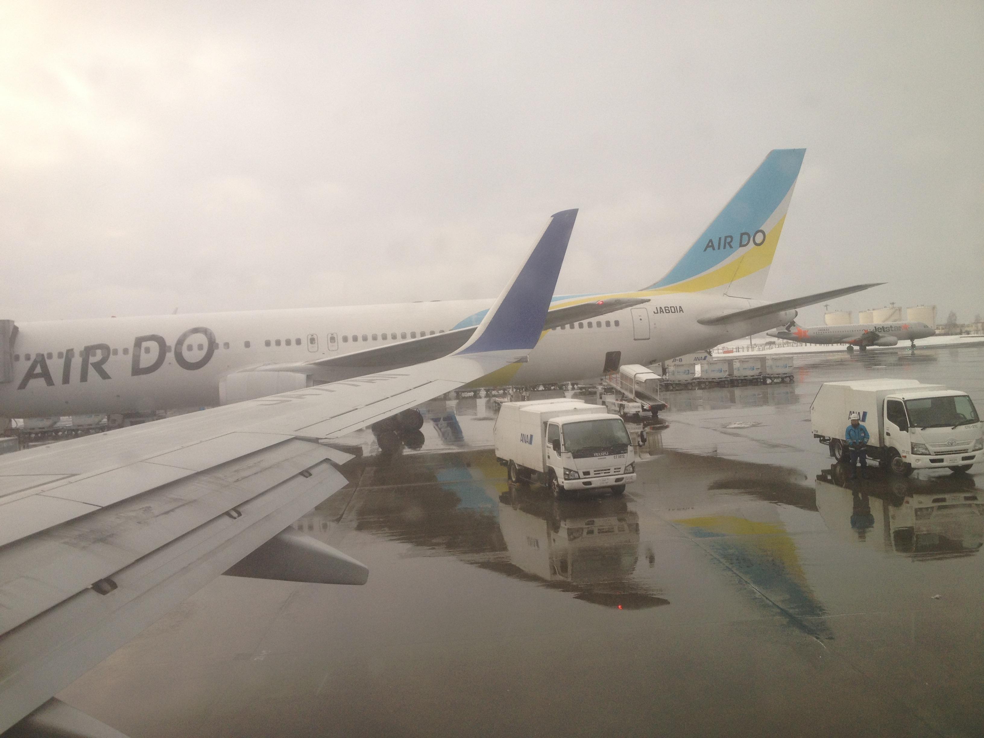 ANA 伊丹-新千歳 ANA775便: ヒコーキ飛んだ